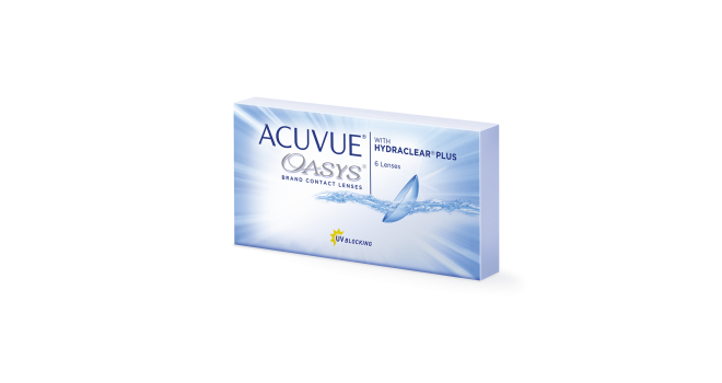 Acuvue Oasys №6 (BC 8,8 mm)